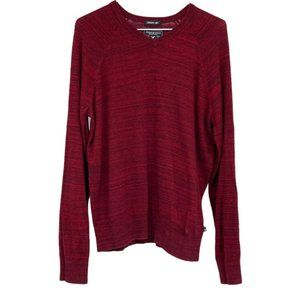 American Eagle red men's seriously soft sweater